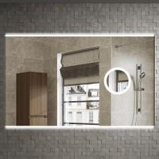 Зеркало Armadi Art Vallessi 100x70, с увеличением и подсветкой