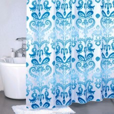 Штора для ванной Milardo Turkish Blue